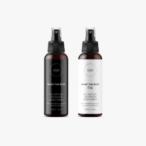 Natural outdoor body spray that repels insects